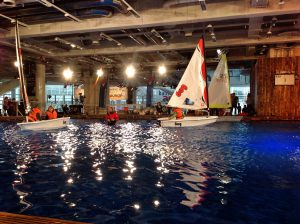 Oliver Ochse introducing kids to sailing