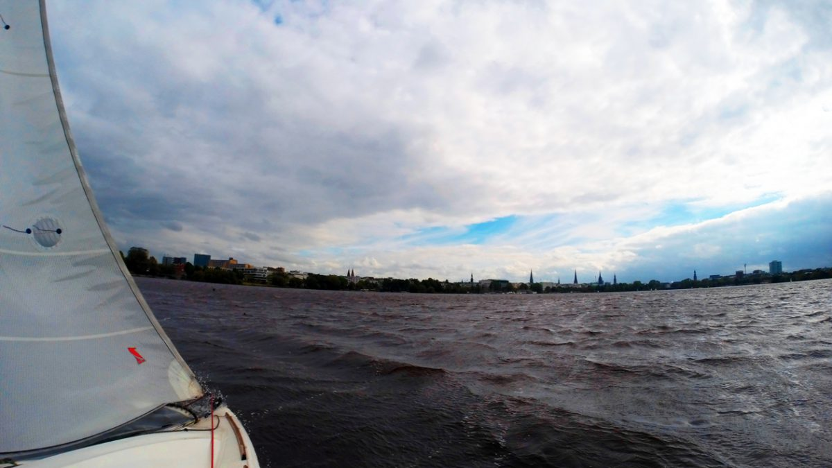 Clouds over Hamburg