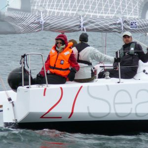 Beginners Crew mastering a Seascape 27
