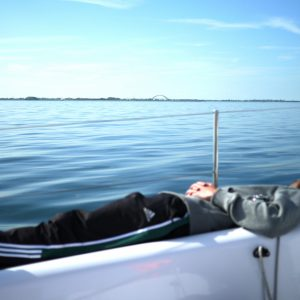 Sailing is really exhausting