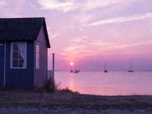 Sunset over Ærøskøbing Bay