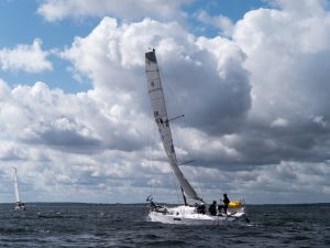 Seascape 27 with main sail