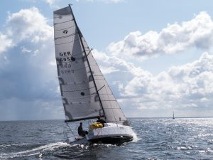 Seascape 27 with main and genoa