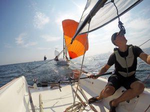 Skipper Jochen - full concentration