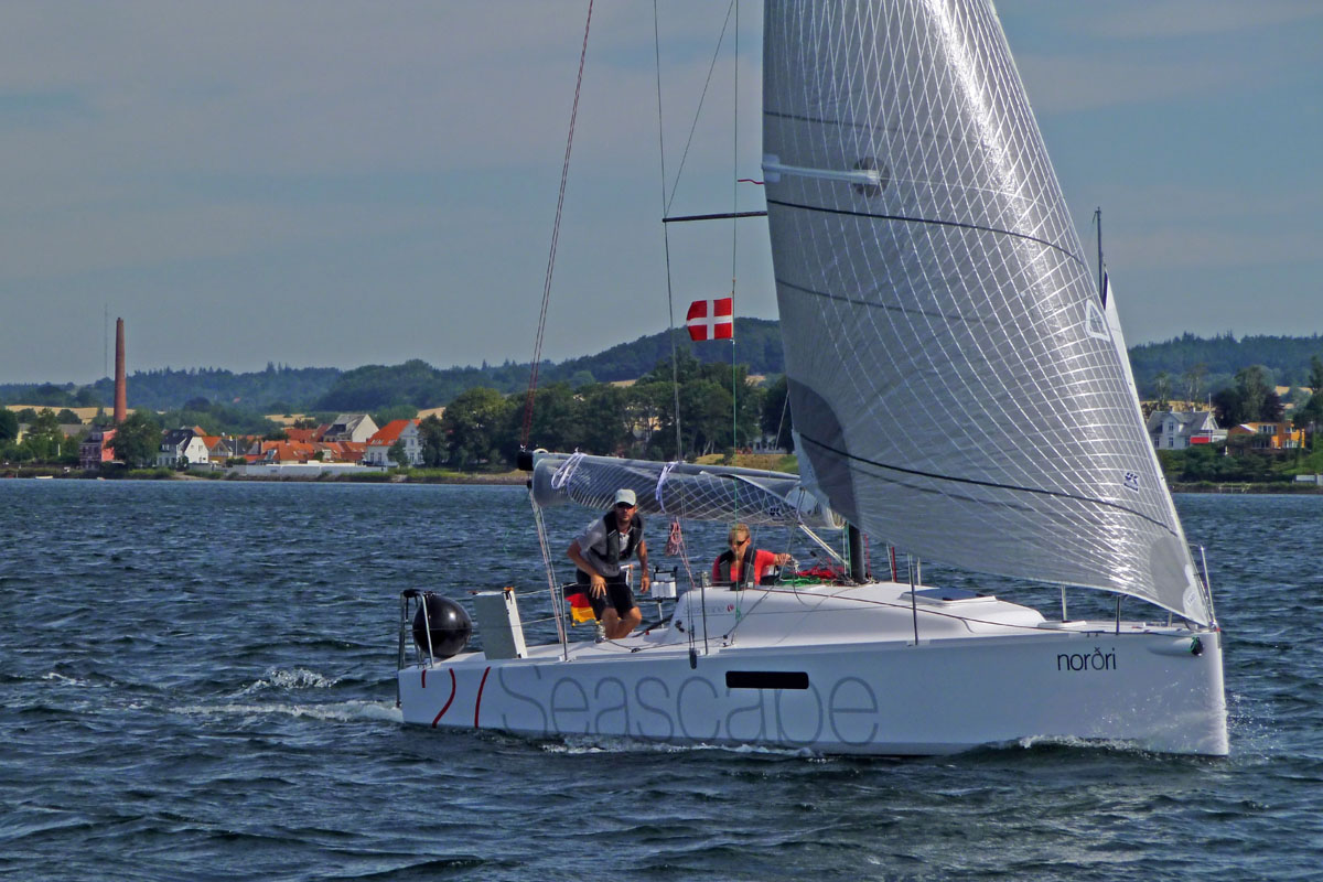 Seascape 27: easy to handle with a small crew