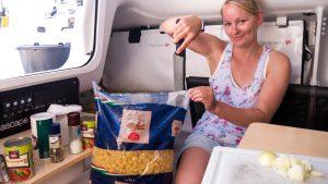 norðri's boat pasta - ingredients