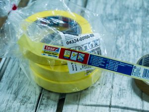 Experts tape for masking