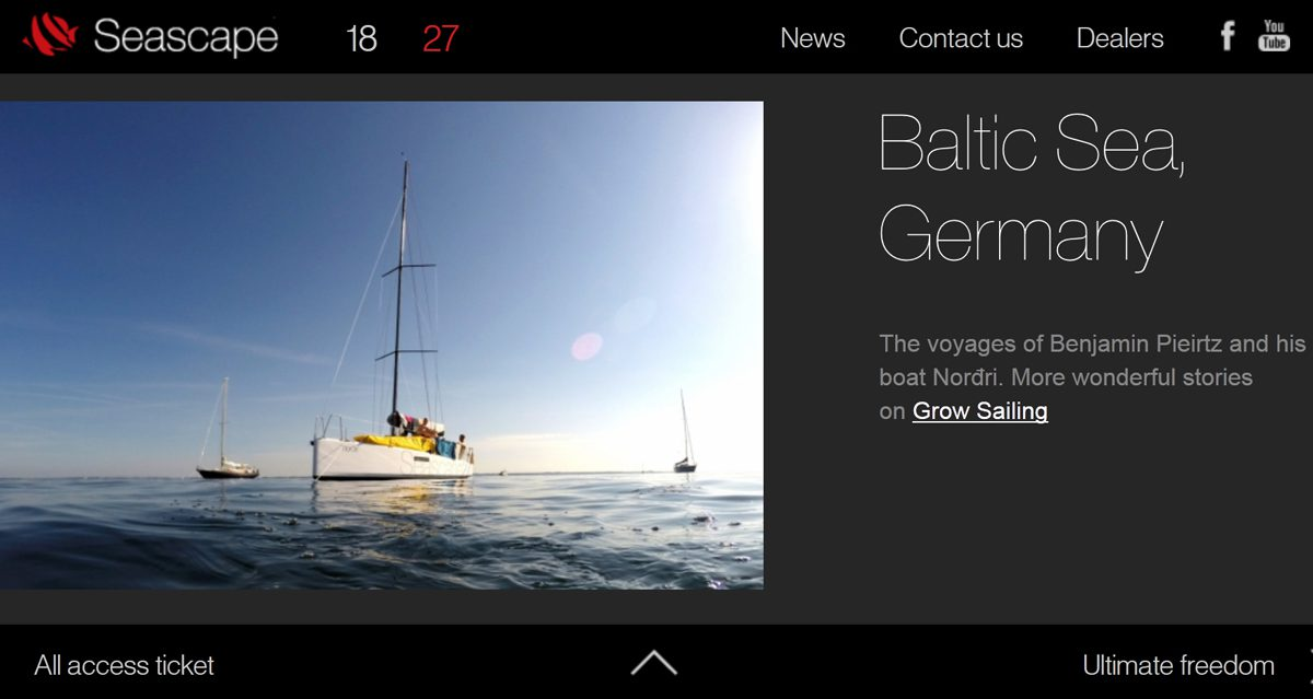 Grow Sailing at Think Seascape
