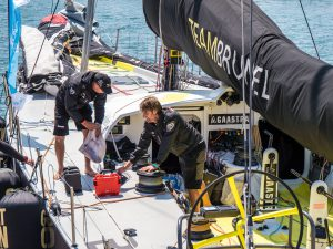 Team Brunel - last minute preparations