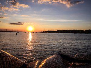 Sunset over Perth Amboy