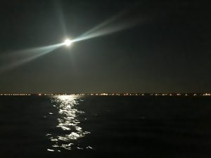 Full Moon over Jersey Shore