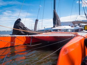 """Gunboat G4 - a """"Foilcruiser"""""""