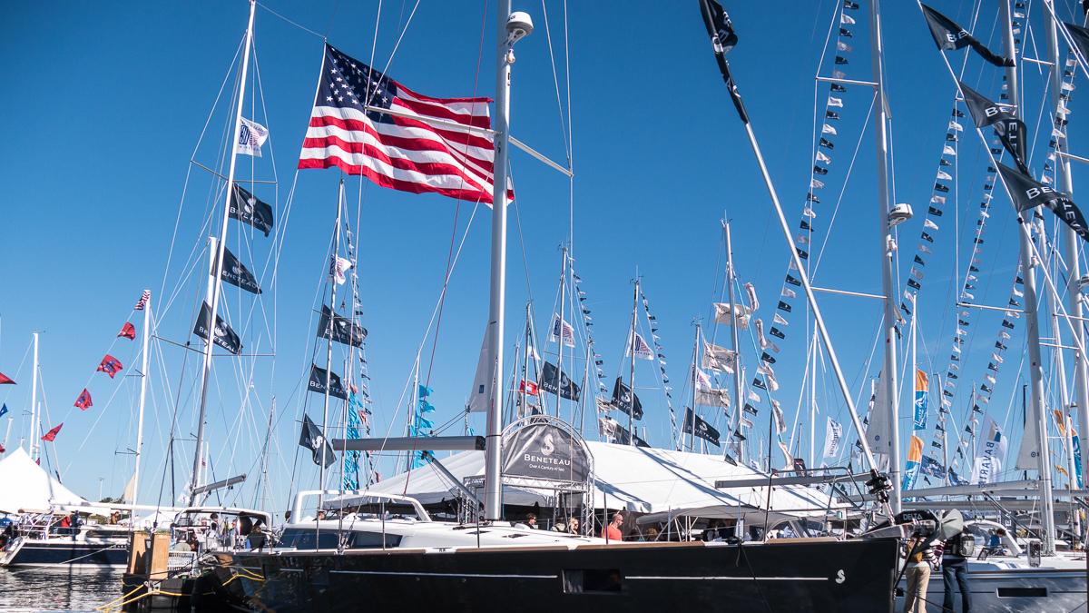 Annapolis Boat Show.