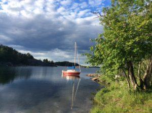 Phil's boat Ottilia.